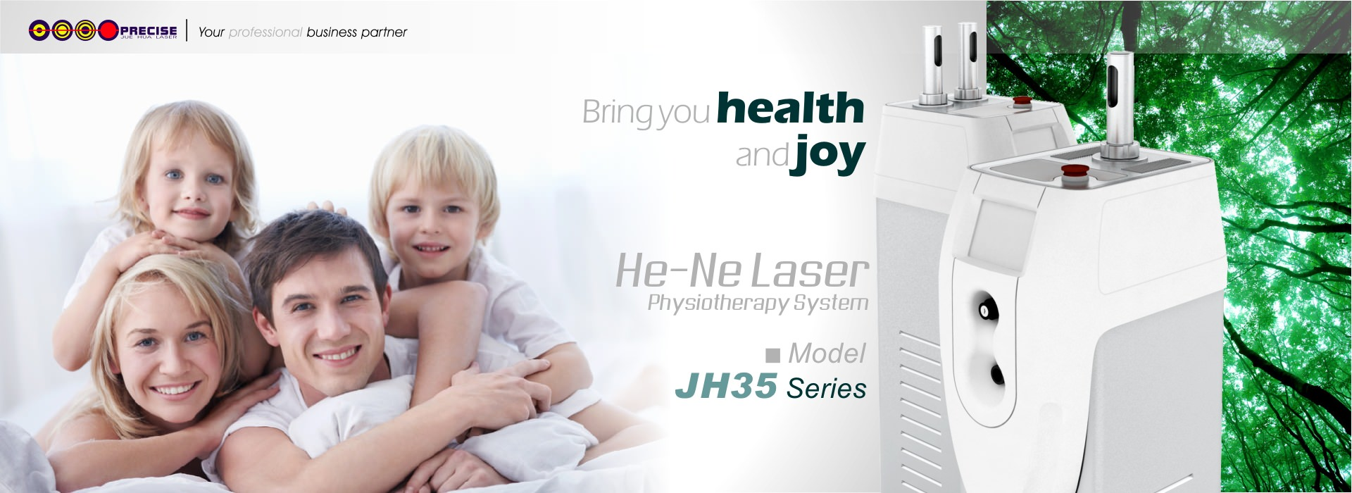He-Ne Laser Physiotherapy System
